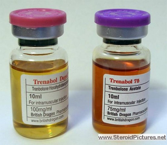 tren acetate injection site