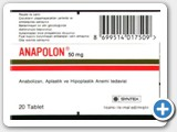 anapolon anadrol box